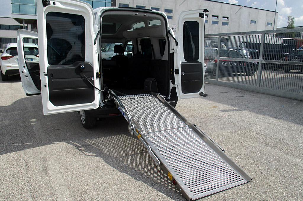 allestimenti trasporto disabili