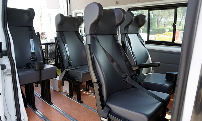 Transit del 2011 trasporto disabili