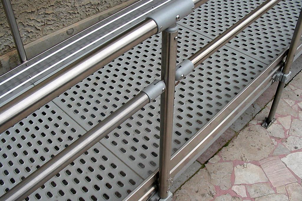 rampa fissa per superamento barriere