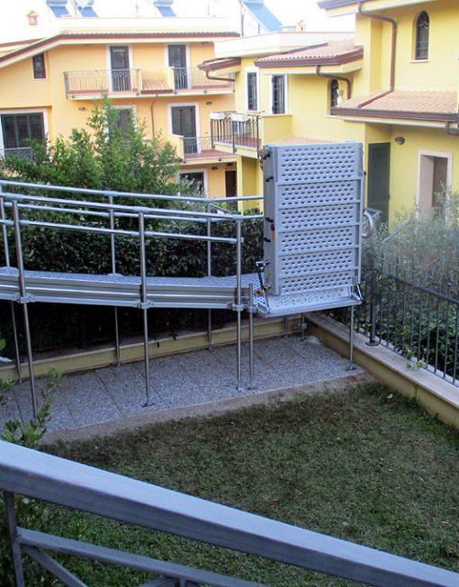 rampa fissa per barriere architettoniche